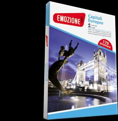 Viaggio nelle capitali europee secondo l'idea di Emozione3