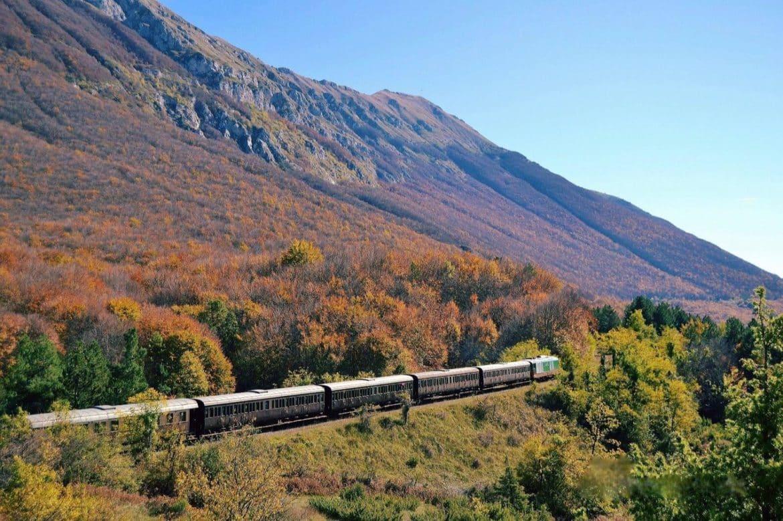 La Transiberiana d'Italia per ammirare i più bei paesaggi d'Abruzzo