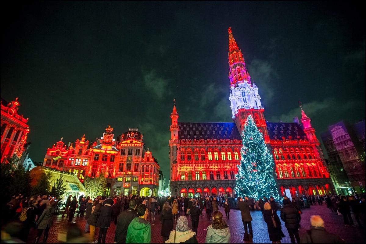 A Bruxelles mercatini di Natale in salsa belga