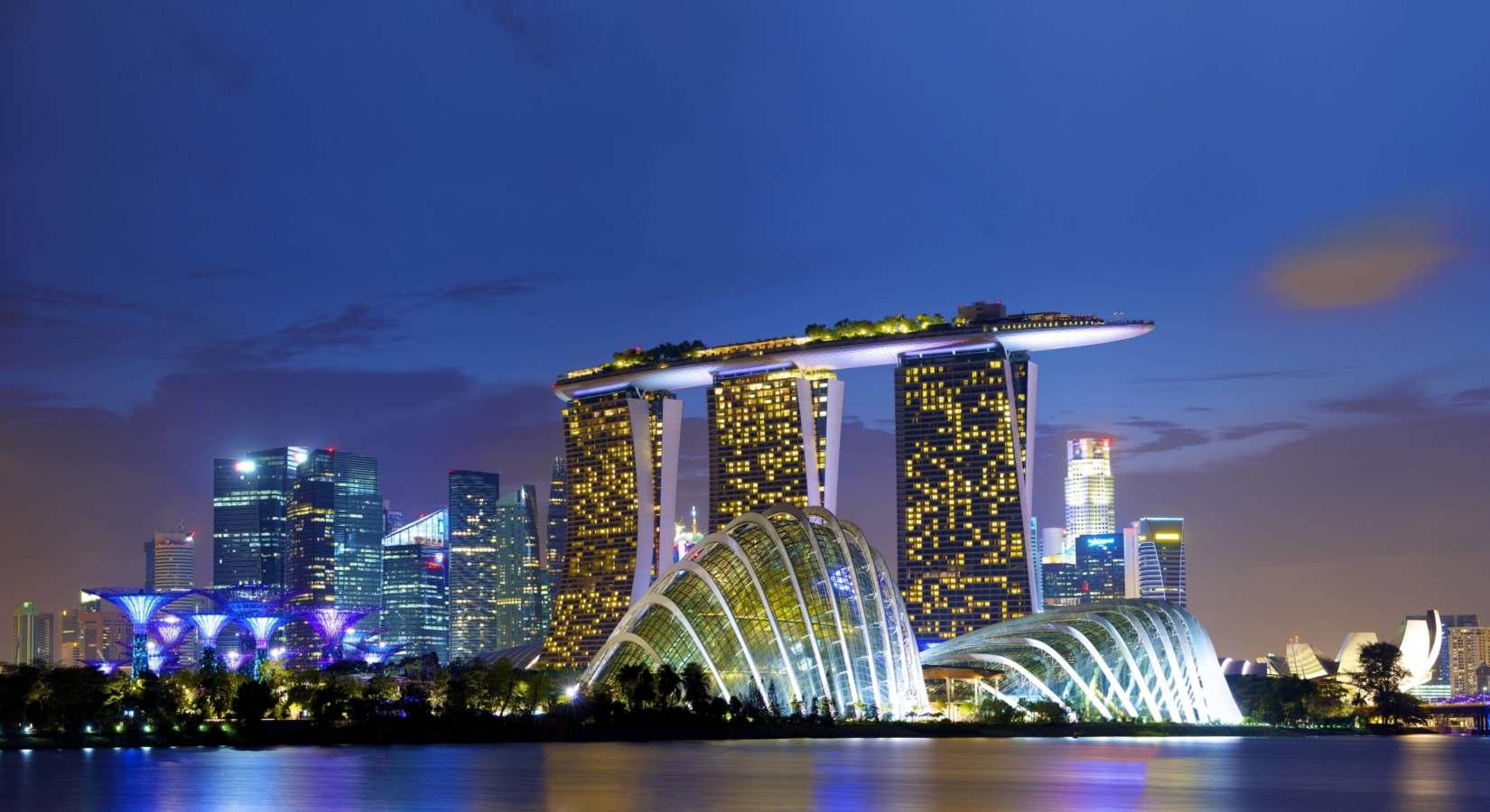 Una visita (per ora virtuale) a Singapore