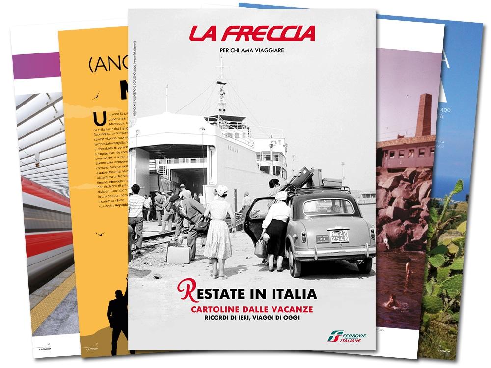 Disponibile online La Freccia, il magazine di Trenitalia