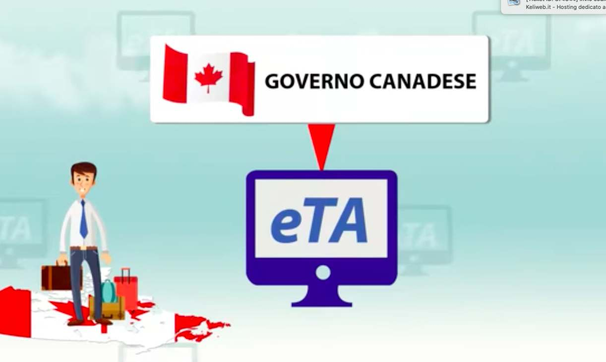 La differenza tra il visto e l'eTA Canada