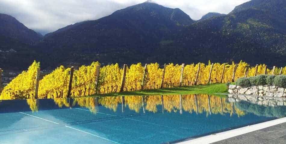 I Vinum Hotels Südtirol, offrono le più belle piscine tra le vigne