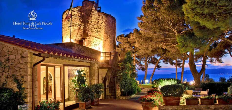 L'Hotel Torre di Cala Piccola dell'Argentario, riapre il 14 maggio