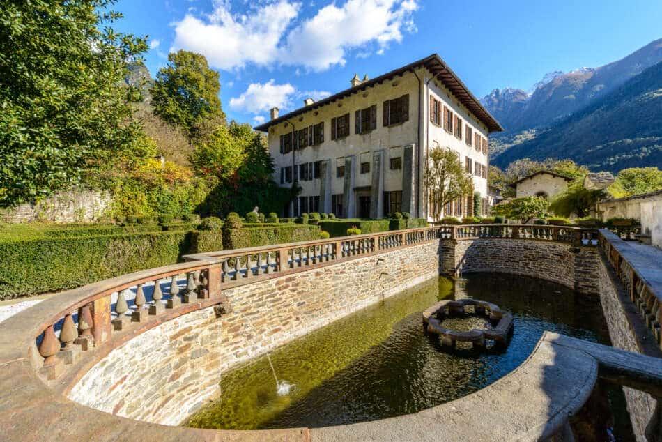Il Palazzo Vertemate Franchi di Chiavenna riapre